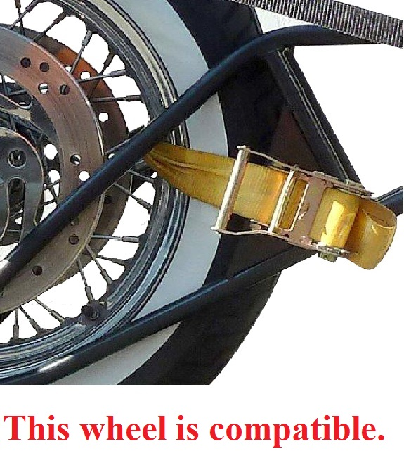 Image of wheel that is compatible with Slick Wheelie